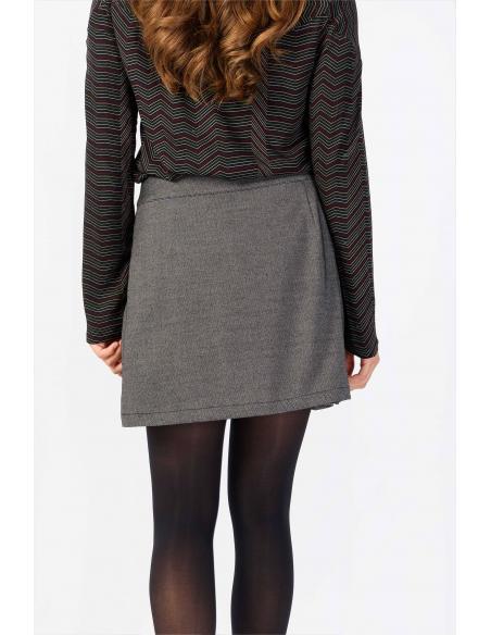 Skunkfunk Demiku Black/Beige Skirt