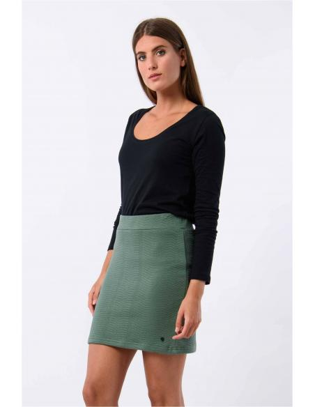 Skunkfunk Terpe Laurel Green Skirt