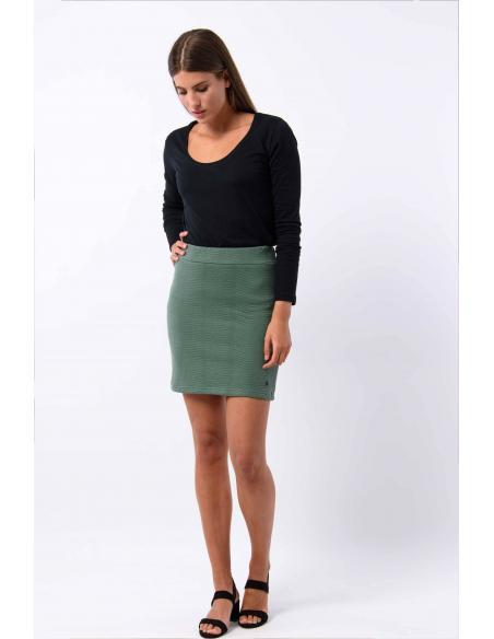Skunkfunk Terpe Laurel Green Skirt