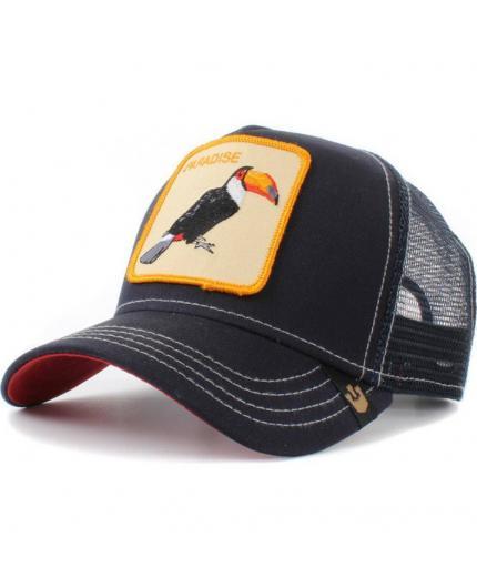 Goorin Bros Take to me Navy Tucan Animal Farm Trucker Hat