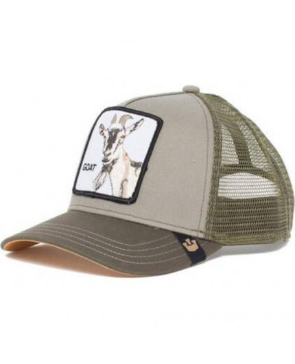 Gorra Goorin Bros Goat Beard Olive- Cabra Animal Farm Trucker Hat