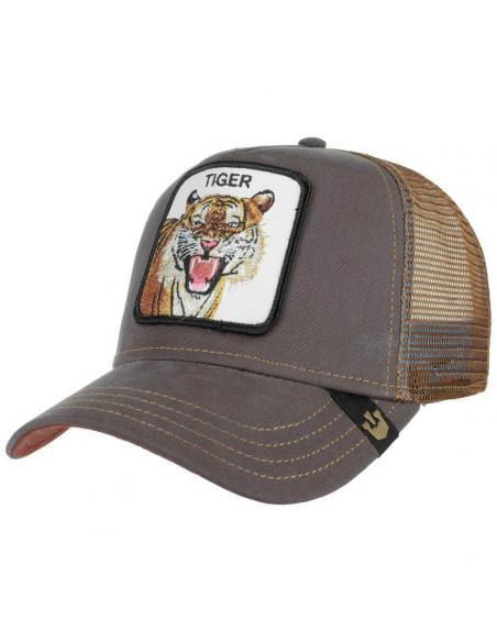 Gorra Goorin Bros Eye of the Tiger Animal Farm Trucker Hat