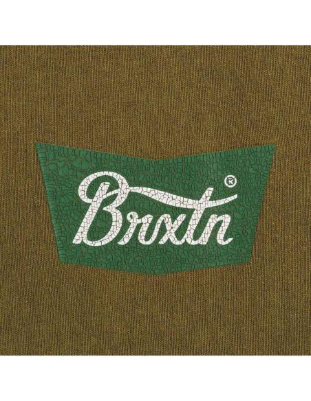 Camiseta Brixton Stith Standard Olive