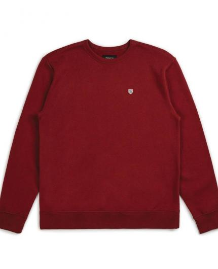 Brixton B-Shield Burgundy crew