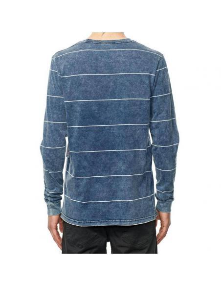 Globe Moonshine pocket L/S Midnight indigo T-shirt