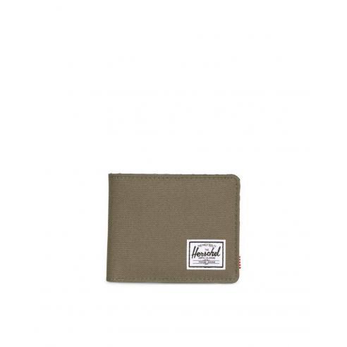 Herschel Roy wallet Ivy green/Smoked Pearl RFID