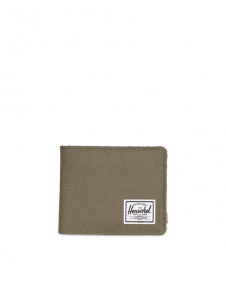 Cartera Herschel Roy Ivy green/Smoked Pearl RFID