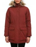Iriedaily Fly High 2 Maroon Parka