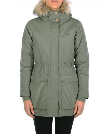 Iriedaily Fly High 2 Light Olive Parka