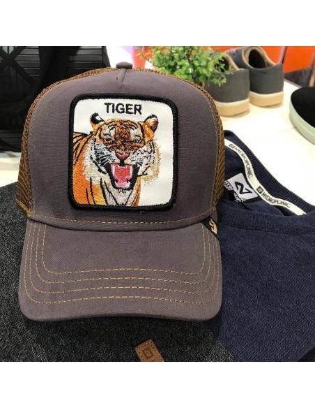 Goorin Bros Eye of the Tiger Animal Farm Trucker Hat