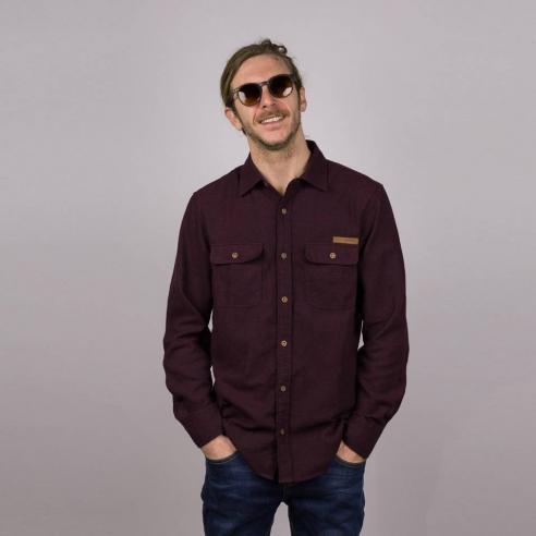 Hydroponic Potrero Burgundy Shirt