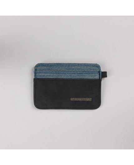 Hydroponic Prairie Card Holder FL Charcoal/Honeycomb blue