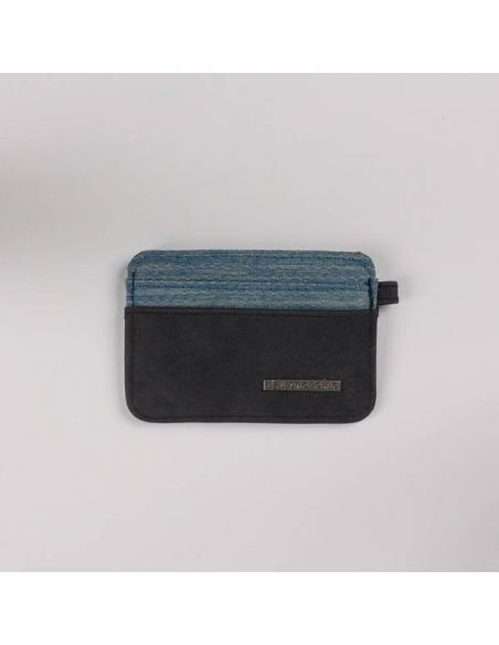 Hydroponic Prairie Card Holder FL Charcoal/Honeycomb blue