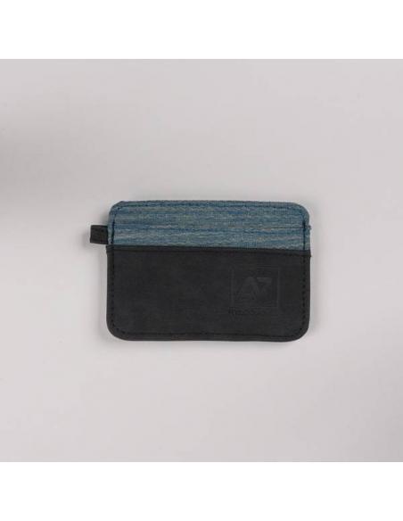 Tarjetero Hydroponic Prairie FL Charcoal/Honeycomb blue