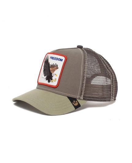 Goorin Bros Freedom Olive Animal Farm Trucker Hat