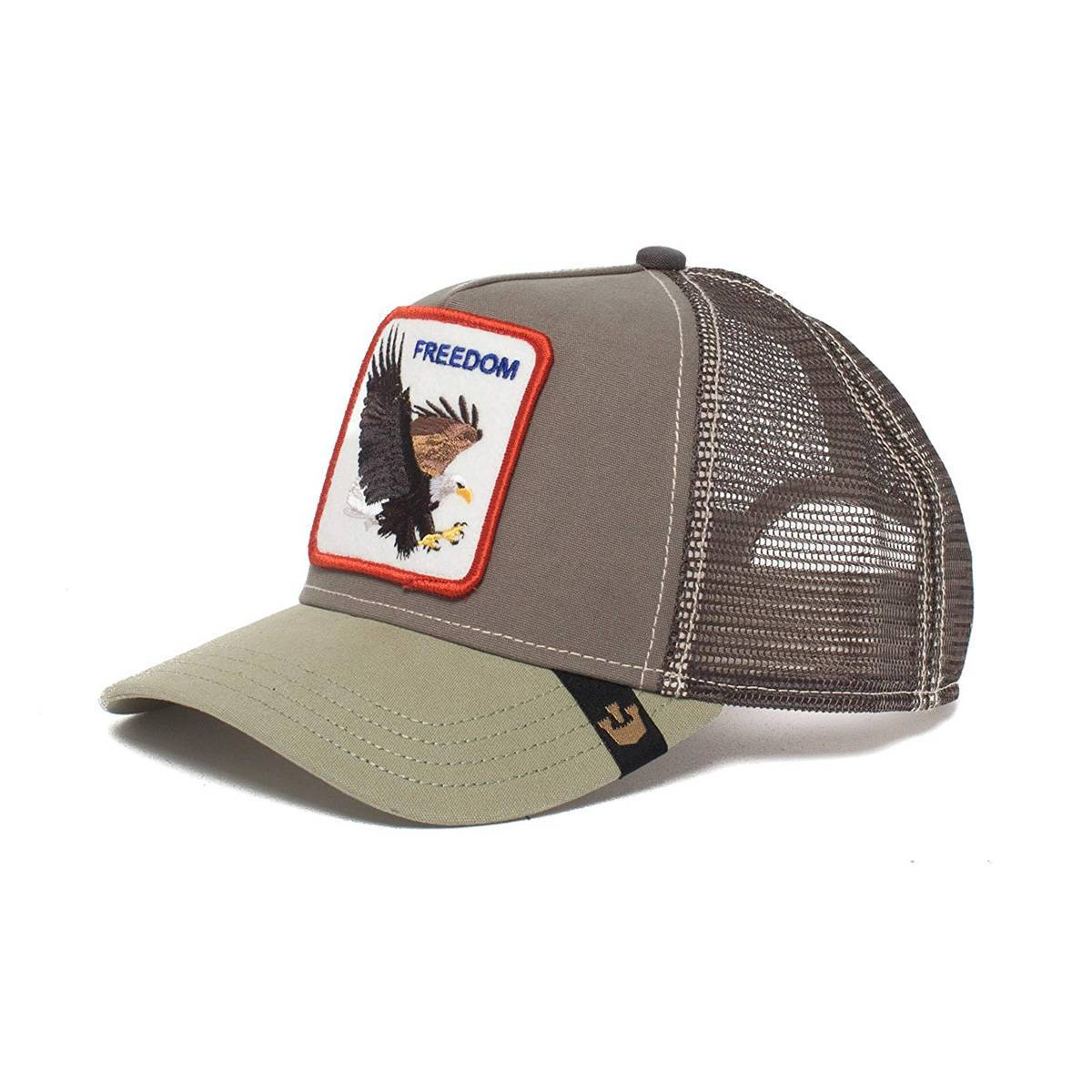 Goorin Bros Animal Farm Trucker Hat Freedom Olive 49253af8685e