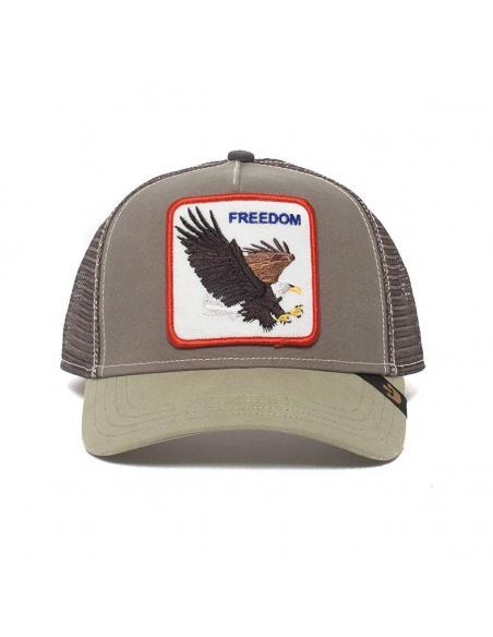 Goorin Bros Freedom Black Animal Farm Trucker Hat
