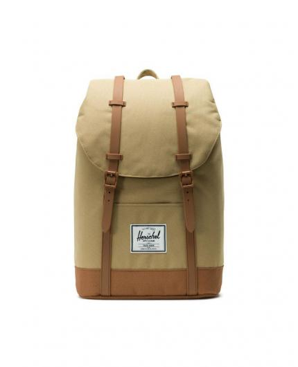 Herschel Retreat Kelp/Saddle Brown Backpack 19,5L