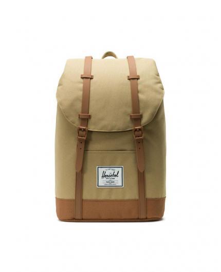 Herschel Retreat Kelp/Saddle Brown Backpack 19,5L