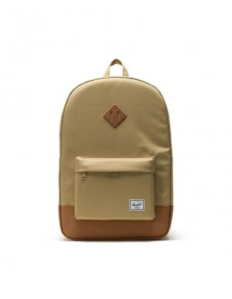 Mochila Herschel Heritage 21,5L Kelp/Saddle Brown