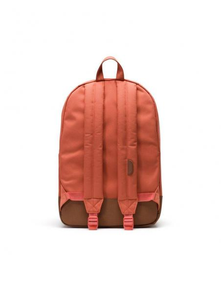 Mochila Herschel Heritage 21,5L Apricot Brandy/Saddle Brown