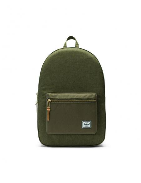 Herschel Settlement Olive Night Crosshatch/Olive Night Backpack