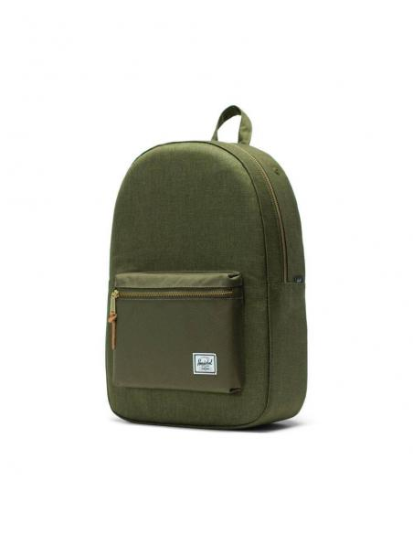 Mochila Herschel Settlement Olive Night Crosshatch/Olive Night