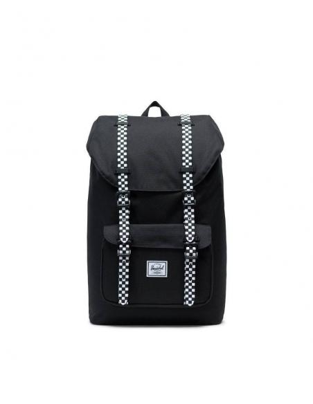 Herschel Little America Mid-Volume 17L Black/Checkboard Backpack