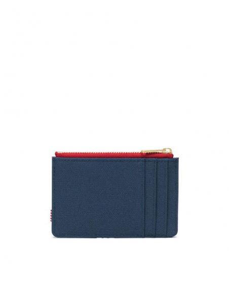 Herschel Oscar con monedero Navy Red /RFID Wallet with purse