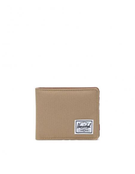 Herschel Roy wallet Kelp Saddle Brown  RFID