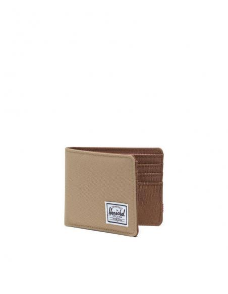 Cartera Herschel Roy Kelp Saddle Brown RFID