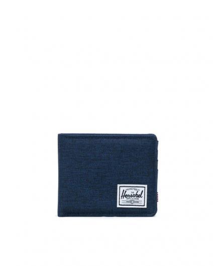 Cartera Herschel Roy Medieval Blue Crosshatch/Medieval Blue RFID