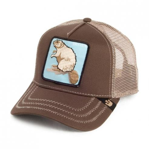 Gorra Goorin Bros Beaver Brown Animal Farm Trucker Hat