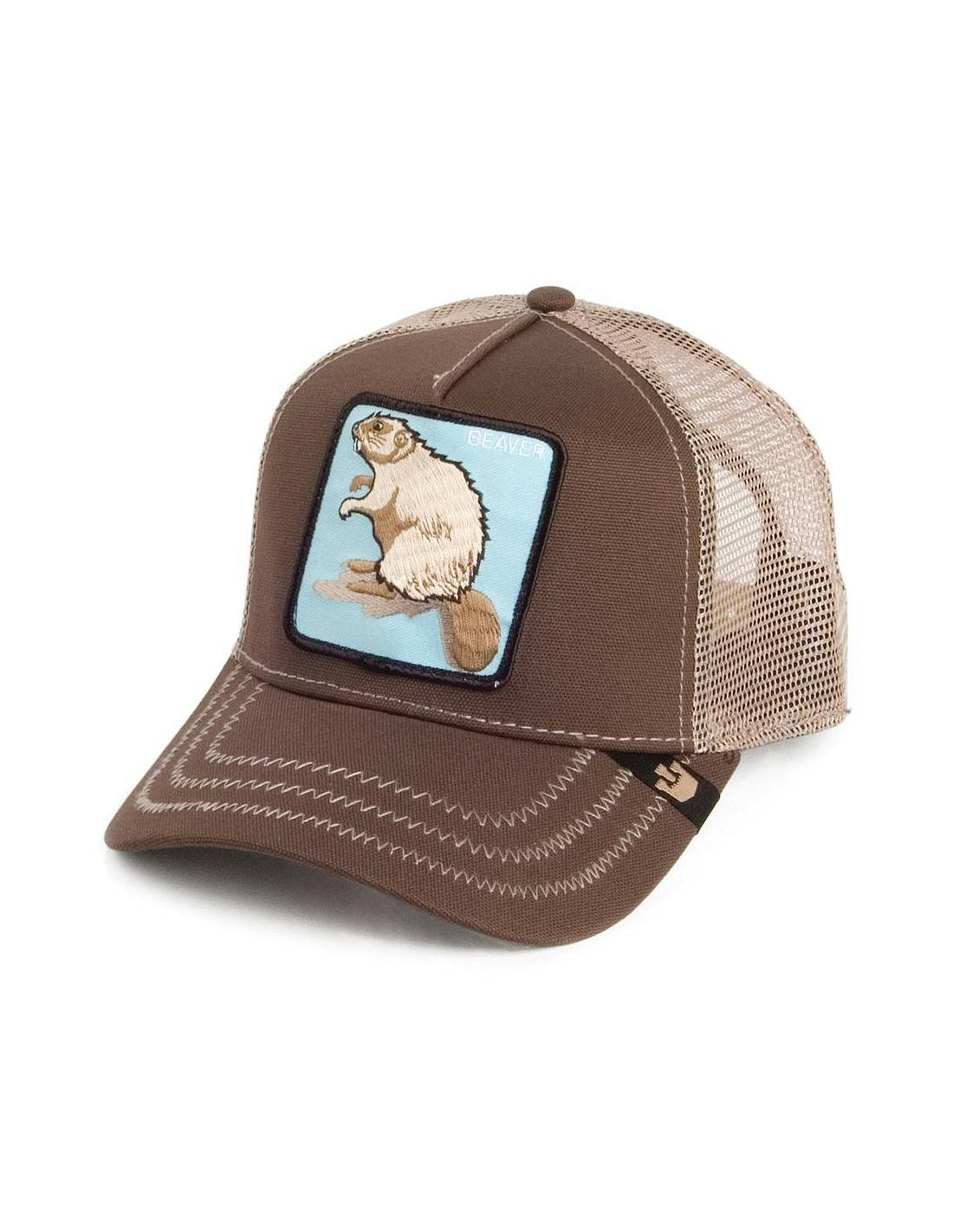 e549fa66 Goorin Bros Beaver Brown Animal Farm Trucker Hat