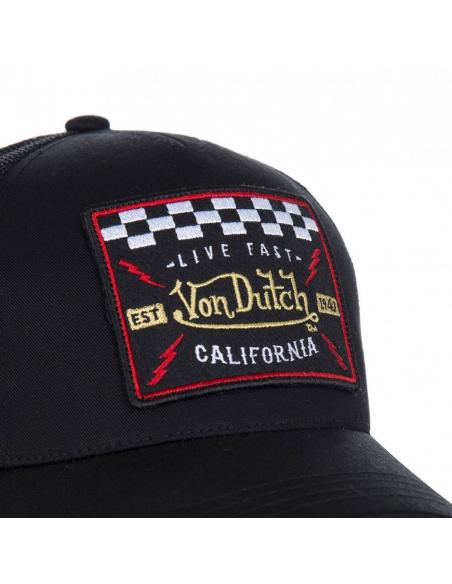 Gorra Von Dutch Blacky4B Negro