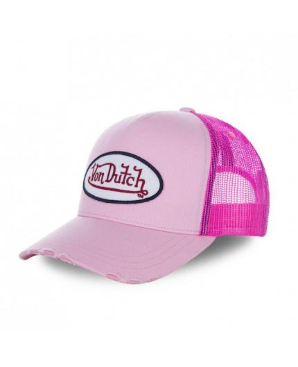 Von Dutch Fresh04 Pink Cap