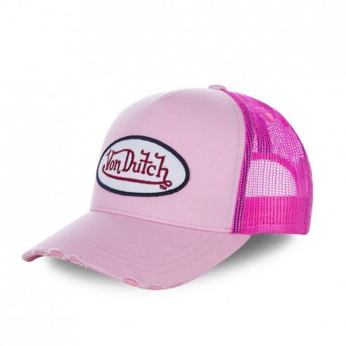 Von Dutch Fresh04 Pink Cap