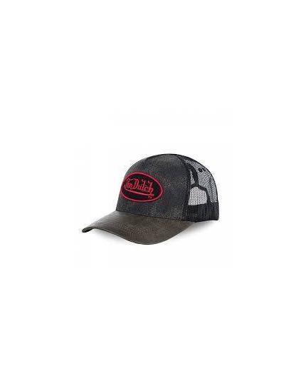 Von Dutch ROB Black Grey Cap