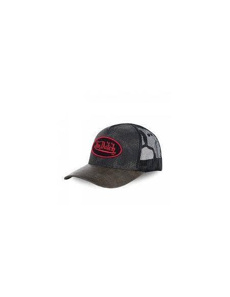 Von Dutch ROB Black Grey Cap