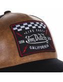 Von Dutch GRLB Black Brown Cap