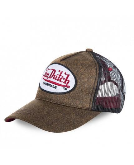 Von Dutch Originals Brown Cap