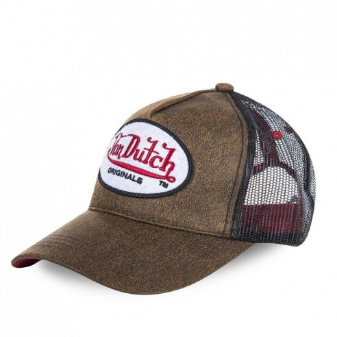 Von Dutch Originals Brown Cap