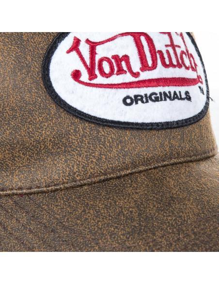 Gorra Von Dutch Originals marrón