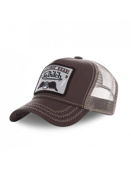Von Dutch Square2 Brown Cap