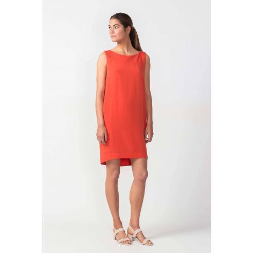 Vestido SKFK Anix Orange