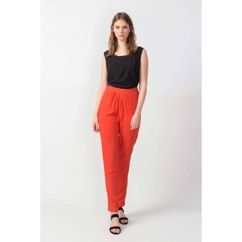SKFK Antza orange Trouser