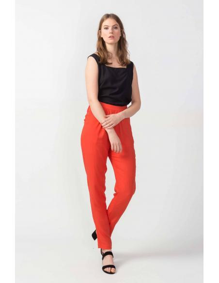 Pantalón SKFK Antza naranja