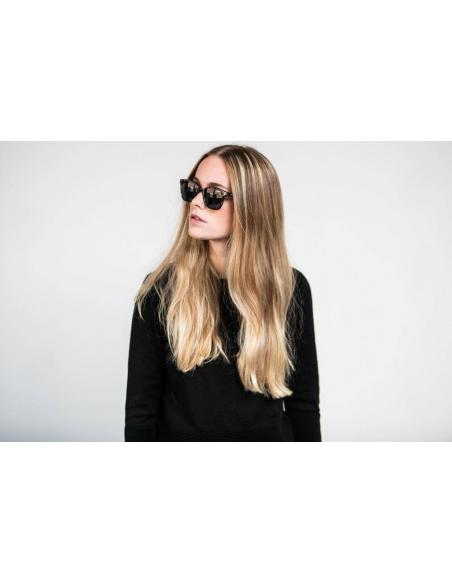 Komono Renee Black Tortoise Sunglasses