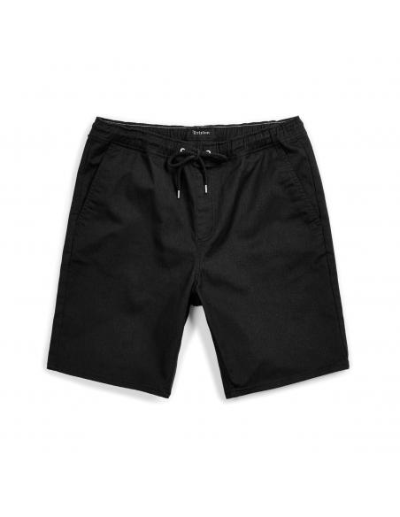 Brixton Madrid II Hemmed Black Short