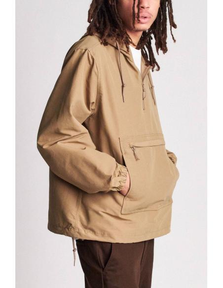 Brixton Patrol Anorak Jacket Khaki